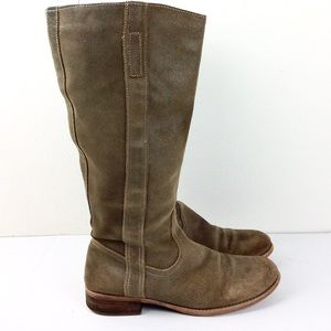 Guess Tan Suede Boots 10